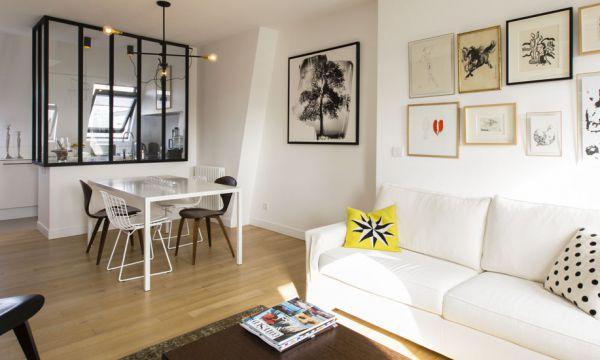 Avant / Après : ils ont transformé 6 chambres de bonne en un appartement design et familial