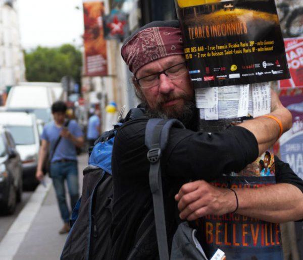 Star de Twitter et ancien sans-abri, Christian Page raconte ses trois hivers dans la rue