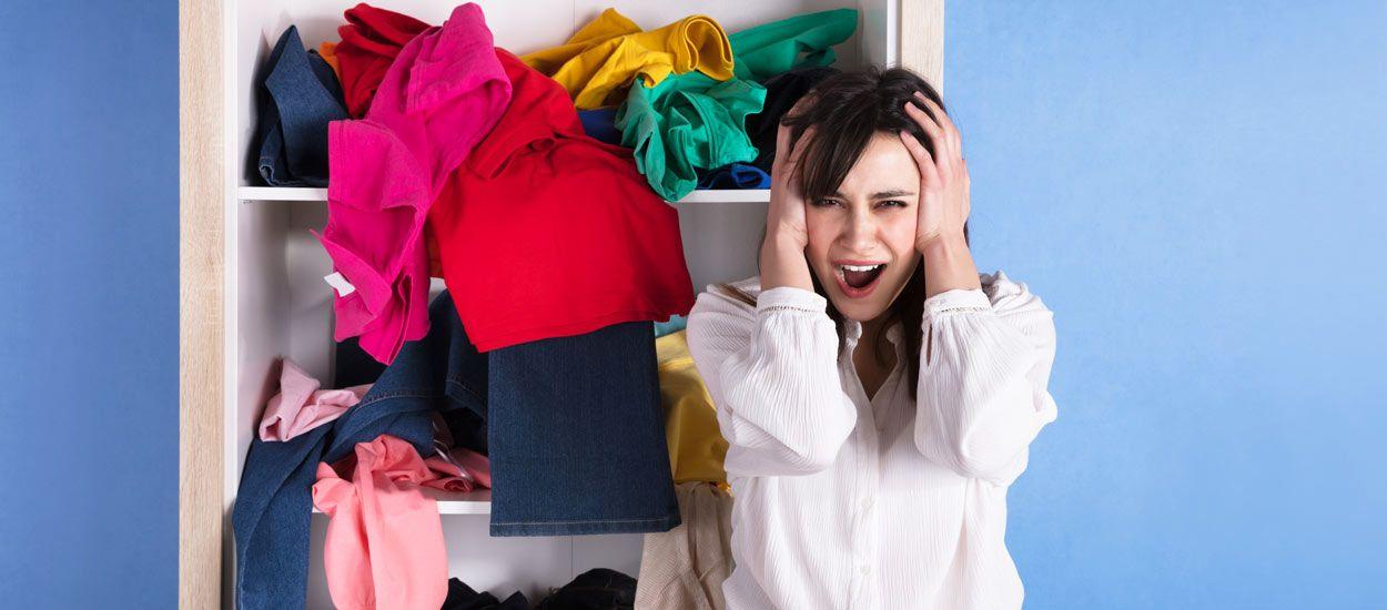 Nos meilleures solutions pour ranger ses vêtements quand on est bordélique !