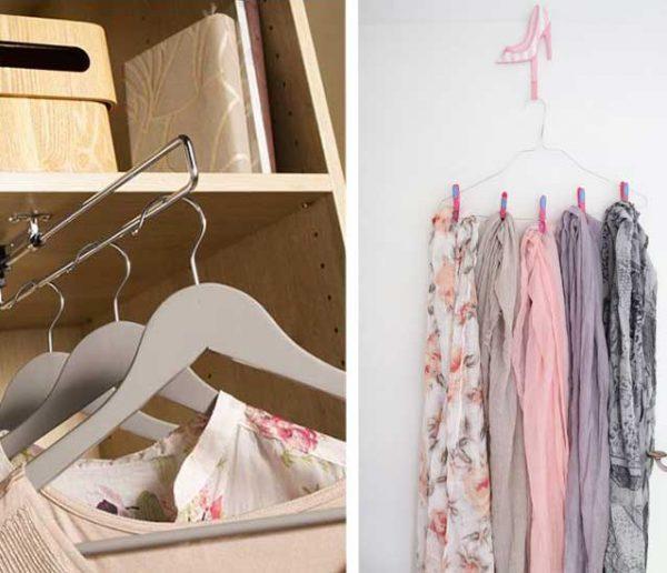 17 astuces bien pensées pour optimiser votre dressing !