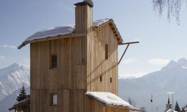 Et si la maison du futur se trouvait à 1750 m d'altitude dans les Alpes ?