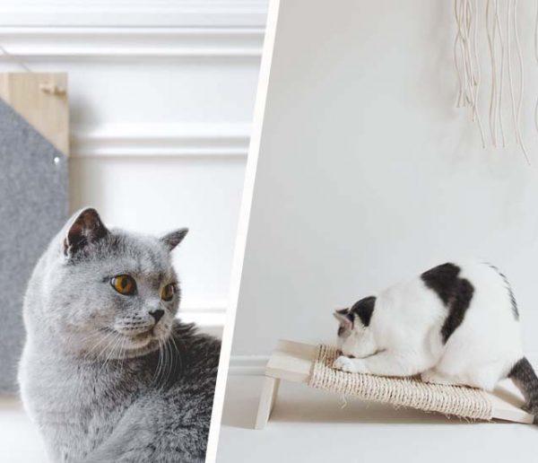 Tutos : 7 griffoirs à fabriquer vous-mêmes pour le plaisir de votre chat (et de vos yeux)