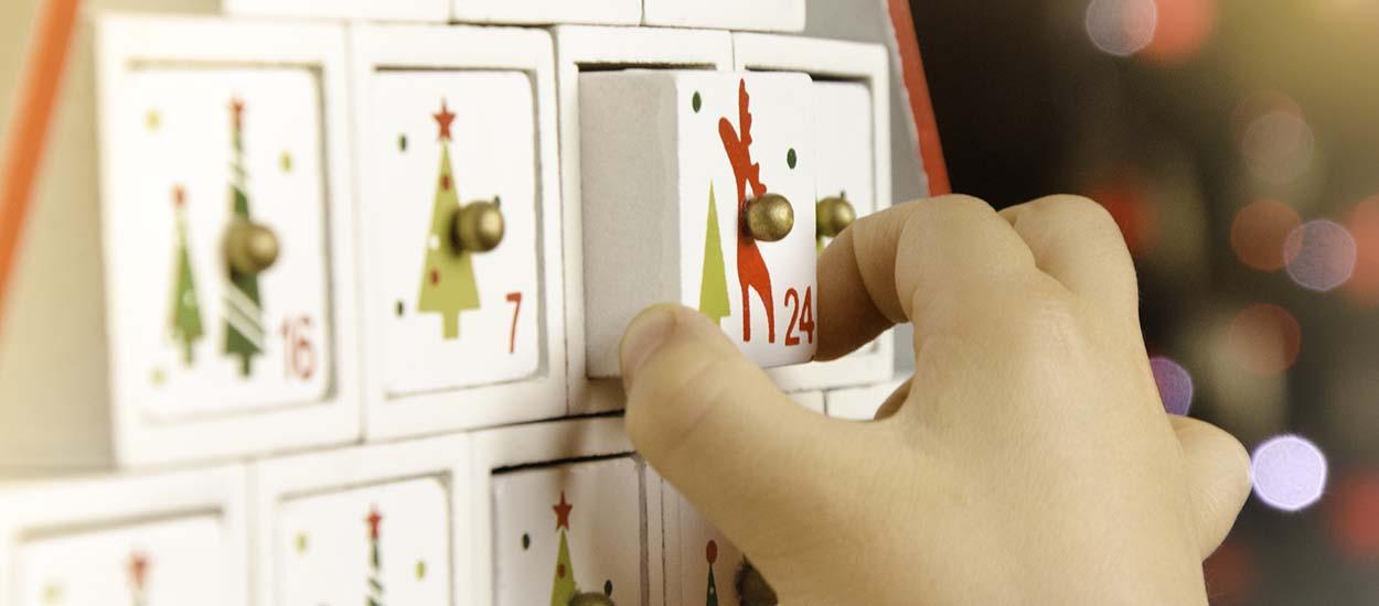 Calendrier de l'Avent zéro déchet : 24 idées d'activités pour attendre Noël en famille