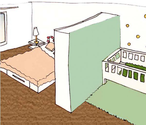 Cas pratique : Comment aménager un coin bébé dans la chambre parentale ?
