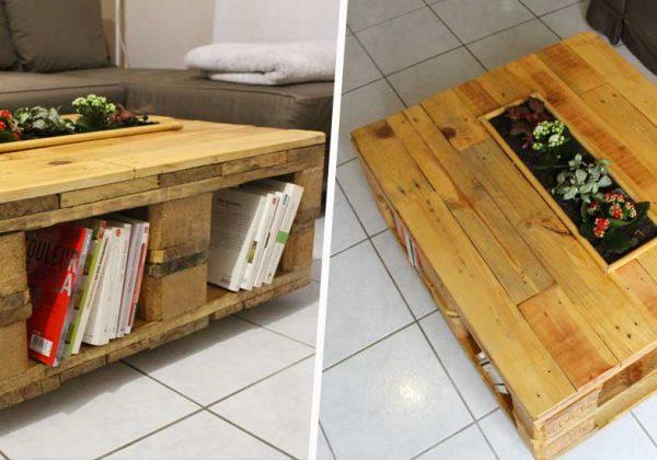 Construisez vous même votre table basse en palette avec ce DIY !