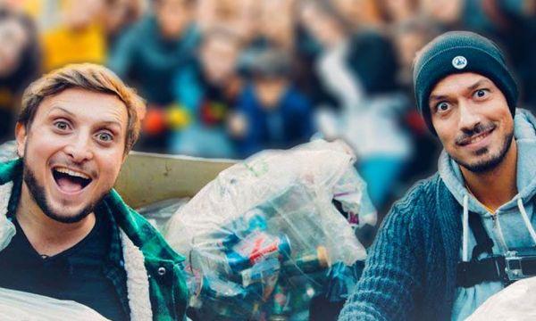 Mcfly & Carlito, stars de Youtube, nettoient les rues de Paris : voici leurs conseils zéro déchet