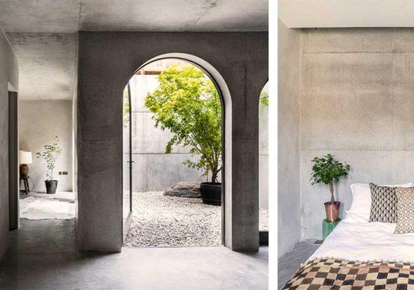 Cette Maison Wabi Sabi Tout En Béton Est Une Oasis De Tranquillité