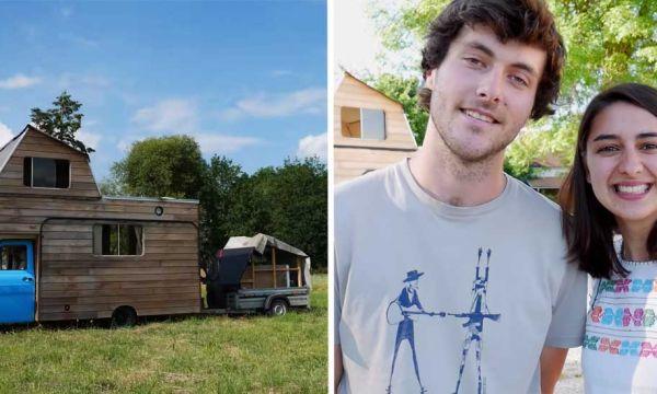 Ce couple a construit sa tiny house pour prendre le chemin de l'autonomie