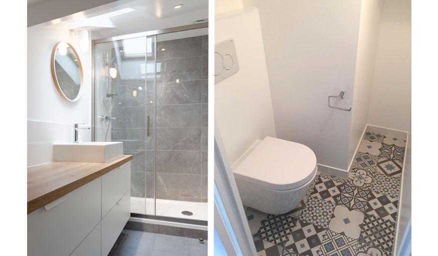 D co et am nagement 7 exemples pour votre salle de bains - Exemple amenagement salle de bain ...