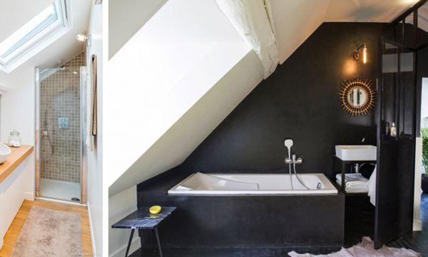 8 belles inspirations pour votre projet de salle de bains sous les combles