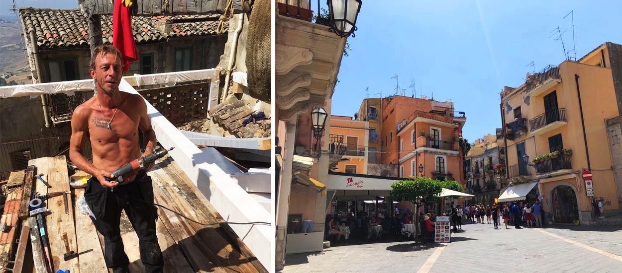 Bert a acheté quatre maisons à un euro en Sicile et vous pouvez faire la même chose !