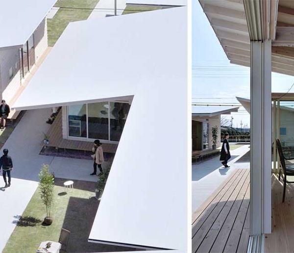 Au Japon, ces maisons encouragent les habitants à interagir avec leurs voisins !