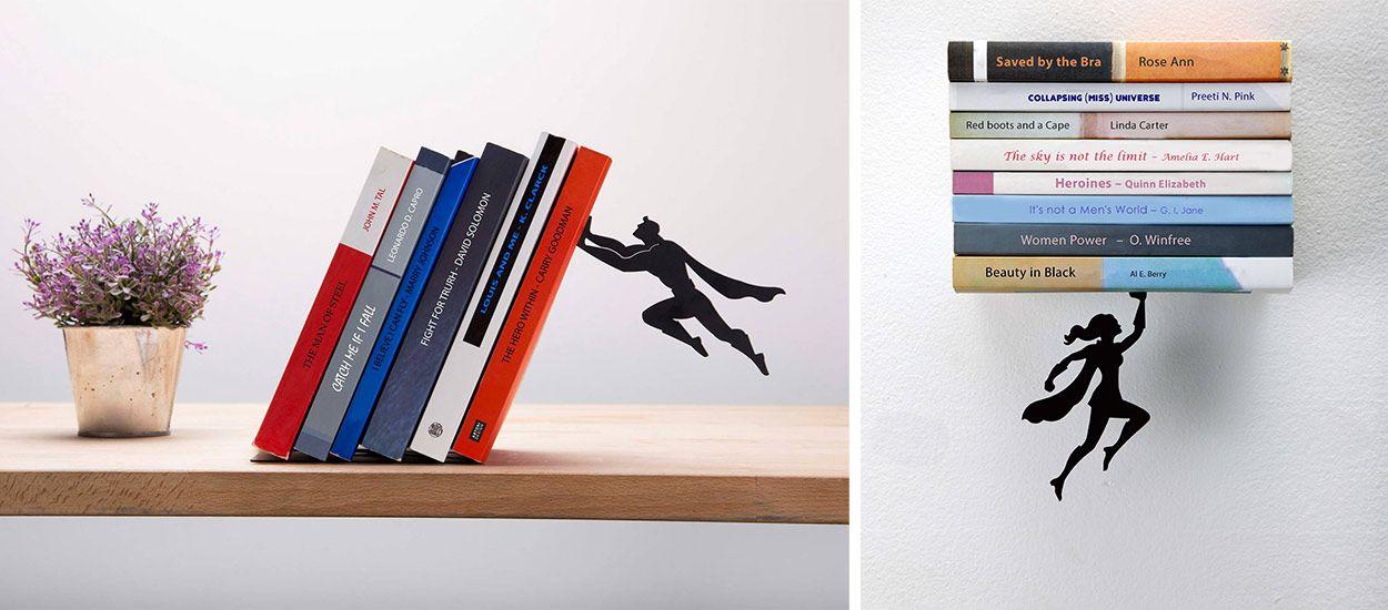 Ces étagères super-héros peuvent sauver la vie de vos livres préférés !
