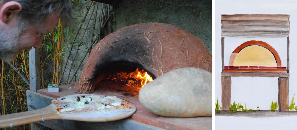 Fabriquez Un Four Pour Cuir Vos Pizzas Au Feu De Bois Dans