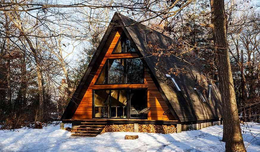 Les plus beaux chalets place aux maisons triangles pour le plaisir des yeux - Les plus beaux interieurs de maison ...