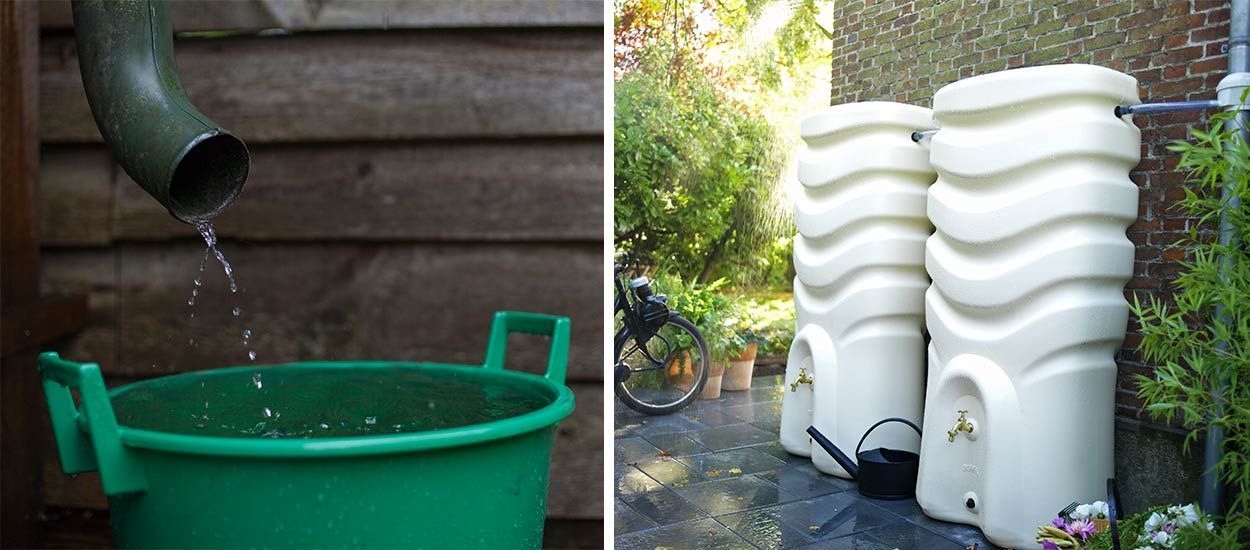 Installez un récupérateur d'eau de pluie pour une attitude éco-responsable