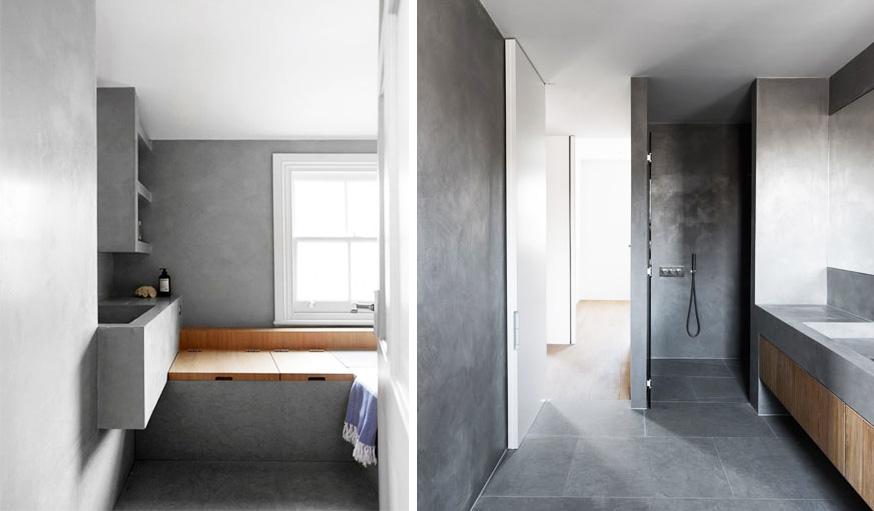 Le tadelakt: l\'enduit oriental design et écolo pour rénover sa salle ...