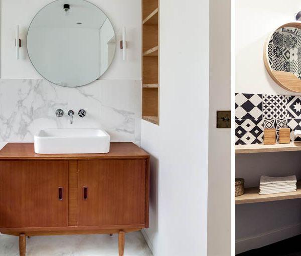 Petite salle de bains pratique