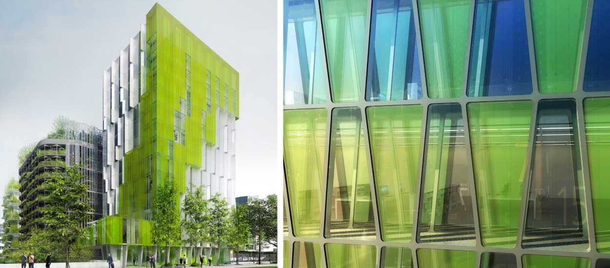 Les immeubles dépolluants sont-ils l'avenir des villes ?