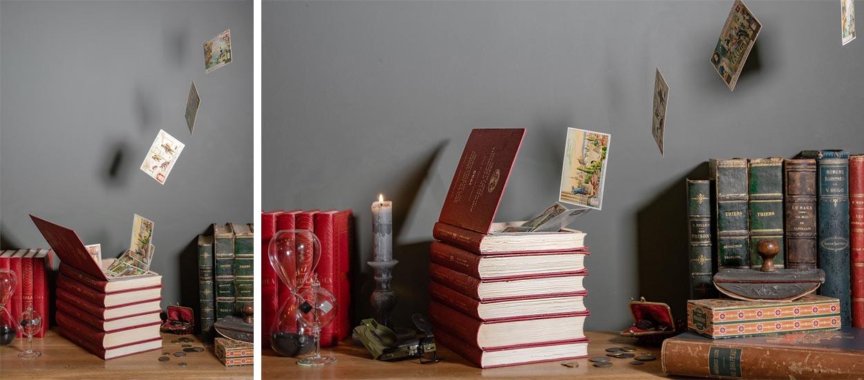 Tuto : Fabriquez une cachette secrète dans des livres sauvés du pilon !