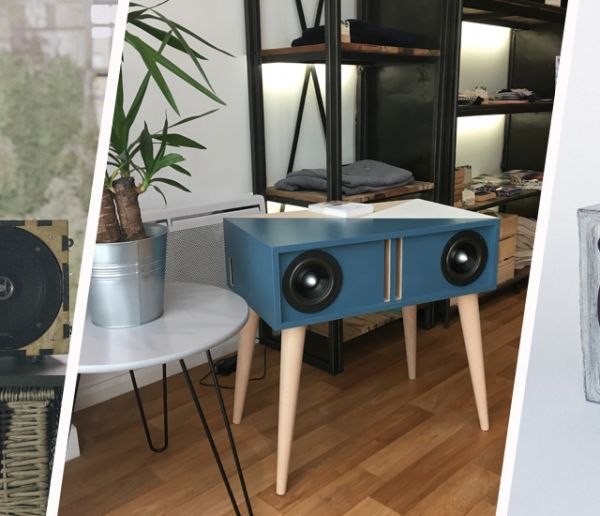 3 enceintes artisanales, réparables et durables conçues par des makers français