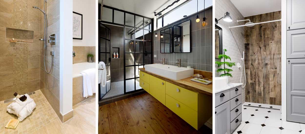 9 inspirations pour installer une douche à l\'italienne dans ...