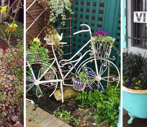 20 idées originales pour végétaliser villes et jardins en détournant des objets