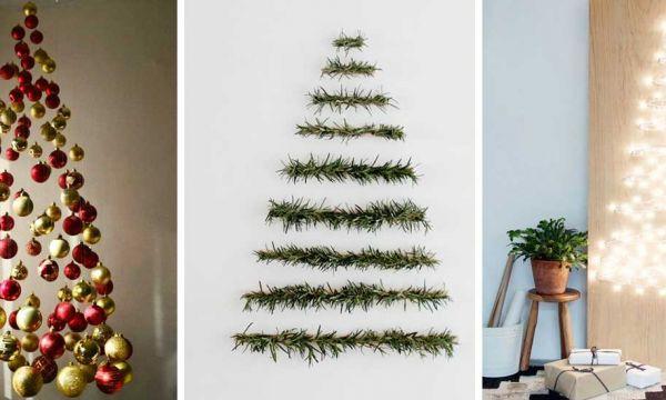5 solutions de dernière minute pour un sapin de Noël original