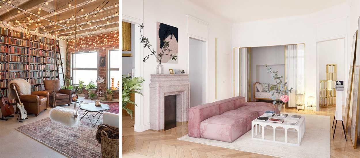 Inspiration déco : Notre sélection des plus beaux salons repérés en 2018 !
