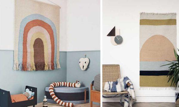 Inspiration déco : 9 styles de tapis tendance à accrocher au mur !