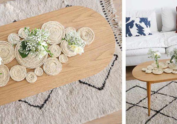 Diy Pour Une Deco Boheme Creez Votre Centre De Table En Corde