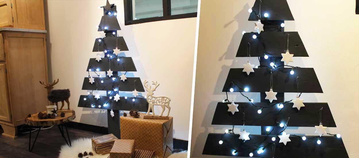 Tuto : Fabriquez un sapin de Noël en palette pour des fêtes écolos et responsables !
