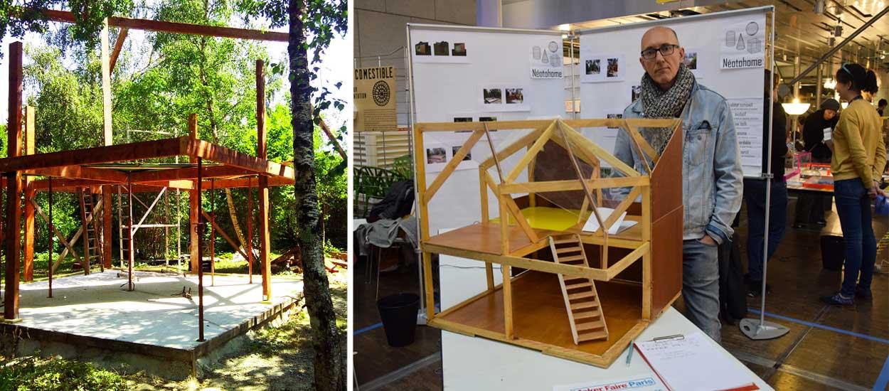 Il construit une maison tout seul pour 50 000 euros et donne les plans gratuitement
