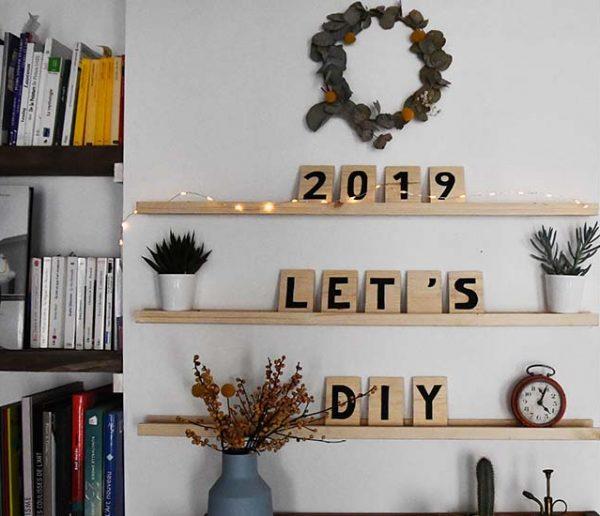 Tuto : Fabriquez un letter board tendance avec une simple planche de bois !