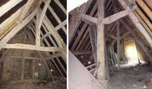 Avant / Après : Cette magnifique maison à colombages a longtemps servi de poulailler !