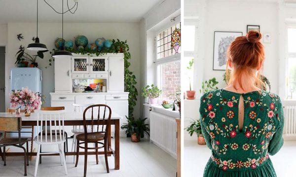 Rencontre avec Charlotte alias Bonjour Tangerine sur Instagram, qui voit la vie en vert et en DIY !