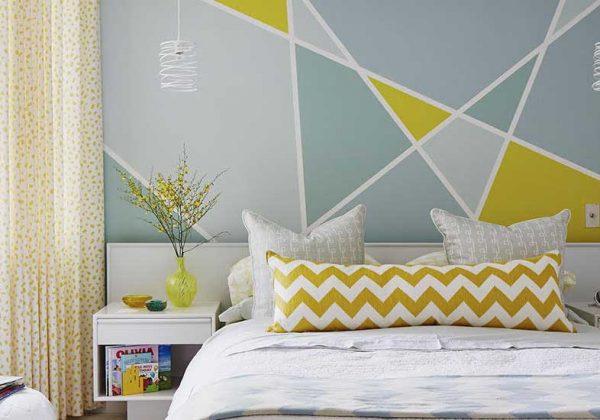 Des Peintures Aux Motifs Géométriques Pour Un Intérieur Design