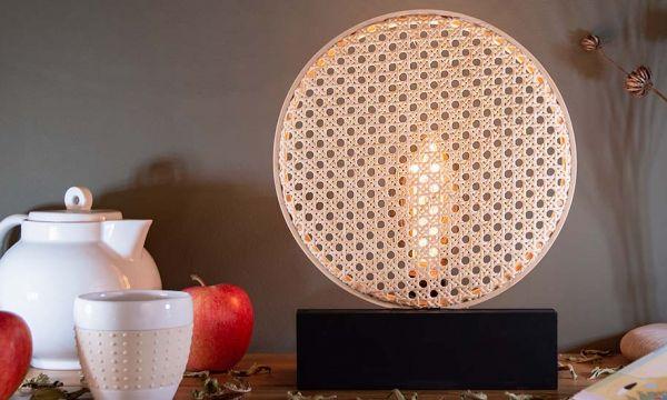 Tuto : Fabriquez une lampe cannage dans le style Art Déco pour moins de 30 euros