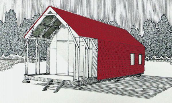 Ce kit vous permettra de construire vous-même votre maison biodégradable pour 40 000 euros