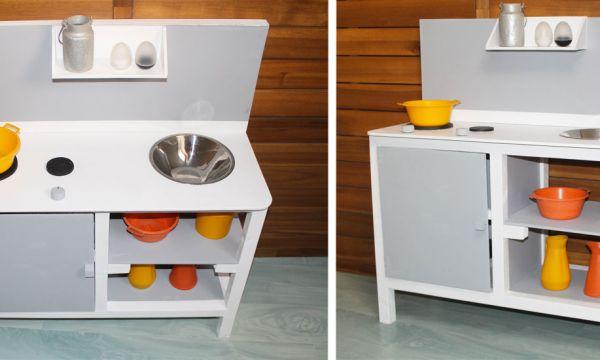 Tuto : Fabriquez une petite cuisine en bois pour faire jouer vos enfants et les éloigner des écrans !