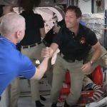 L'astronaute Thomas Pesquet arrive dans la station spatiale ISS
