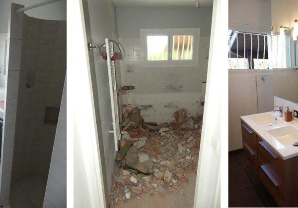 Aménager une salle de bains moderne pour une personne en ...
