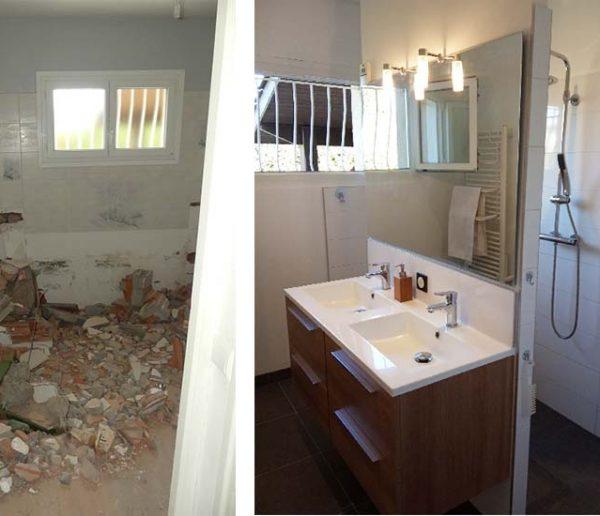 Avant / Après : Cette maman a dessiné une salle de bains adaptée aux besoins de son fils handicapé