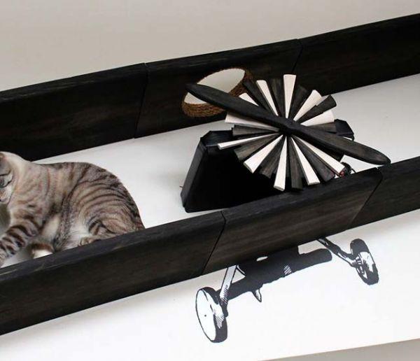 Pourquoi vous devriez installer un parcours pour chats sur vos murs
