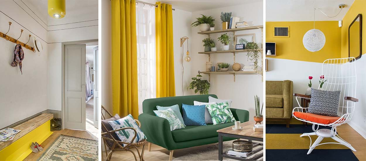 Couleur tendance : 8 nuances de jaune pour réchauffer votre décoration cet hiver !