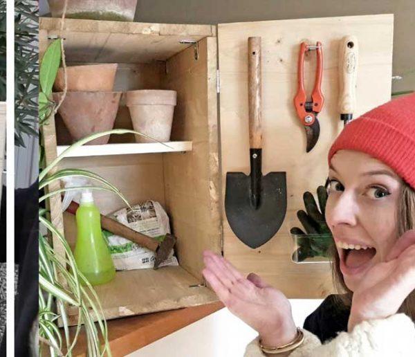 Tuto : Fabriquez une cabane à outils pour votre balcon avec Ophélie Ta Mère Nature