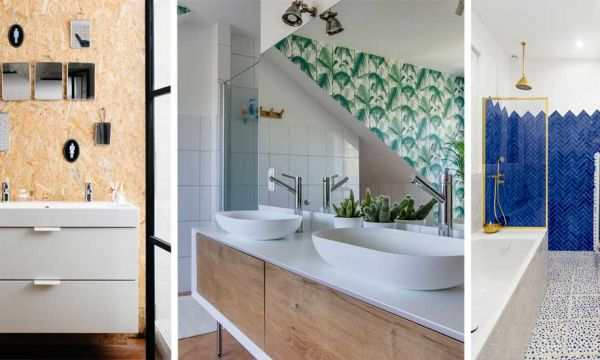Best of : 6 rénovations de salles de bains pour vous inspirer