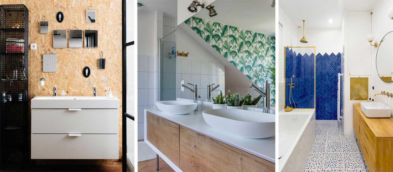 Idées déco et aménagement salle de bains : 6 rénovations ...
