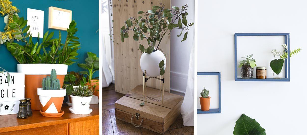 10 tutoriels pour mettre en valeur les plantes dans sa maison