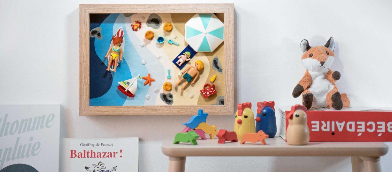 Tuto : créez votre propre cadre Playmobil pour une chambre d'enfant